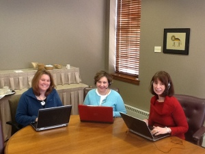 Lori, Becky, Sara webinar photo