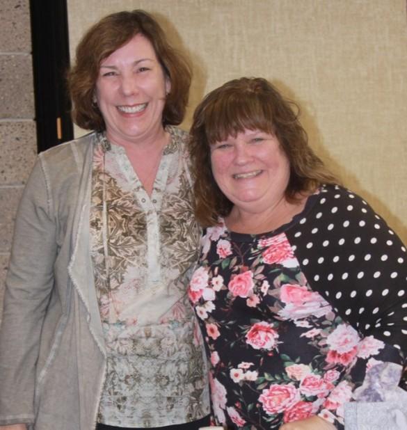 President Anita Hering & President Elect Kelly Kunkel - 2018 Sept 14